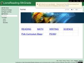 lionsreading-5thgrade.wikispaces.com