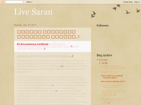 livesaran.blogspot.in