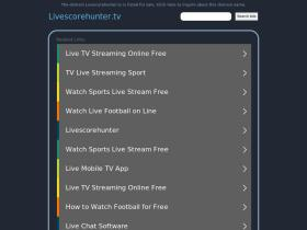 livescorehunter.tv