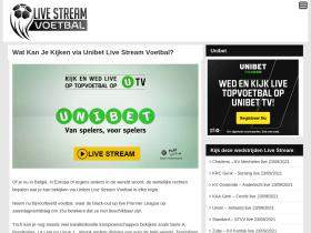 livestreamvoetbal.com