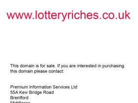 lotteryriches.co.uk