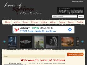 loverofsadness.net