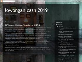 lowongancasn2019.blogspot.com