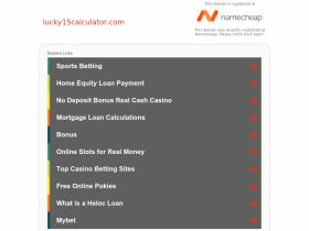 lucky15calculator.com