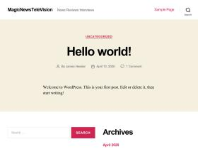 magicnewstelevision.com