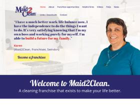 maid2cleanfranchise.co.uk