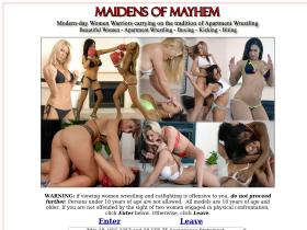 maidens-of-mayhem.com