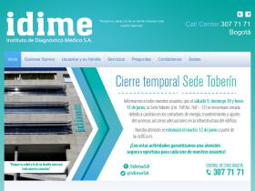 mail.idime.com.co