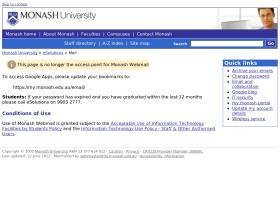 mail.monash.edu