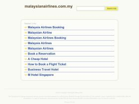 malaysianairlines.com.my