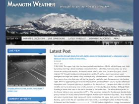mammothweather.com