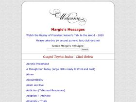 margiesmessages.com