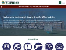 marshallcountysheriff.com