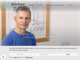massage-kloeckner.de