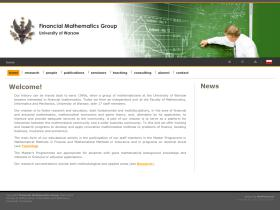 mathfinance.mimuw.edu.pl