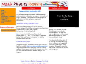 mathphysicsexplore.org