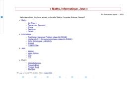 maths-informatique-jeux.com