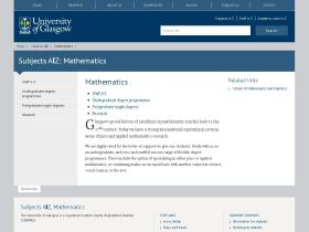 maths.gla.ac.uk