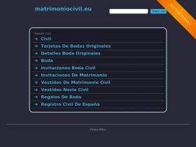 matrimoniocivil.eu