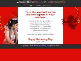 matrimonyday.org