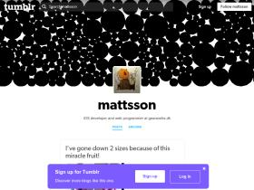 mattsson.tumblr.com