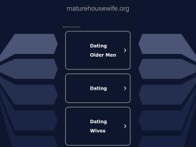 maturehousewife.org