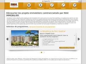 max-immobilier.evimmo.fr
