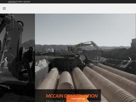 mccainconstruction.com