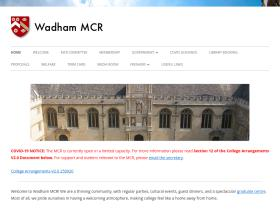 mcr.wadham.ox.ac.uk