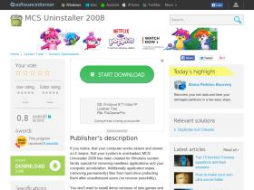 mcs-uninstaller-2008.software.informer.com