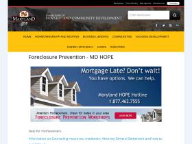 mdhope.dhcd.maryland.gov