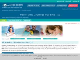 mdph-17.action-sociale.org