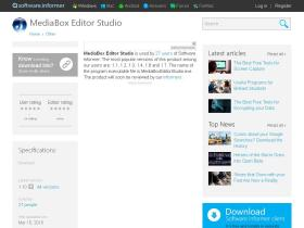 mediabox-editor-studio.software.informer.com
