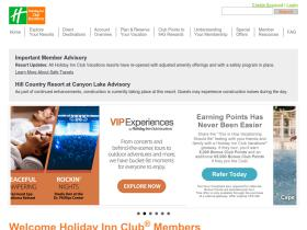 members.holidayinnclub.com