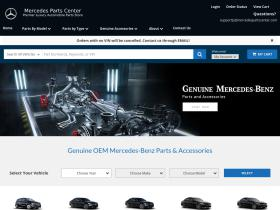 mercedespartscenter.com
