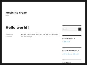 mesinicecream.net