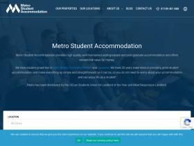 metrostudentaccommodation.co.uk