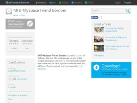 mfb-myspace-friend-bomber.software.informer.com