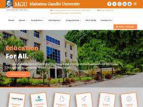 mgu.edu.in