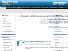 microsoft-70-640-windows-server-2008-active-directory-configur.sharewarejunction.com