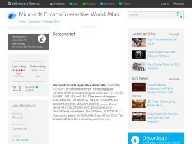 microsoft-encarta-interactive-world-atla1.software.informer.com