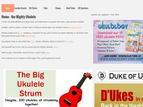 mightyukulele.co.uk