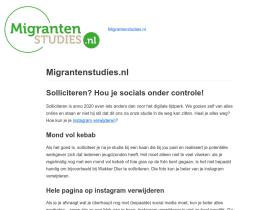 migrantenstudies.nl