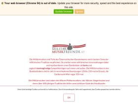militaermusikfreunde.at
