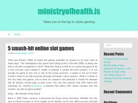 ministryofhealth.is