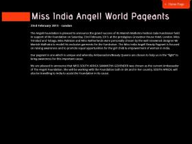 missindiaangelworldpageants.com