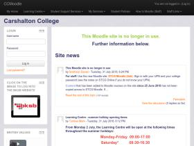 moodle.carshalton.ac.uk