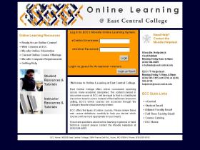 moodle.eastcentral.edu