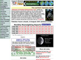 moonsighting.com