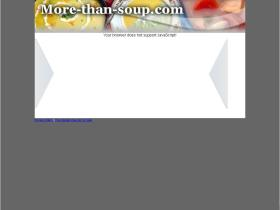more-than-soup.com